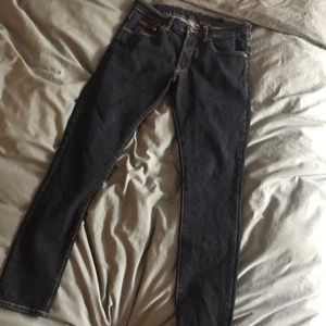 H and M denim jeans